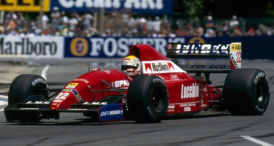 Dallara BMS Scuderia Italia 192 (1992) - Pierluigi Martini, Adelaide