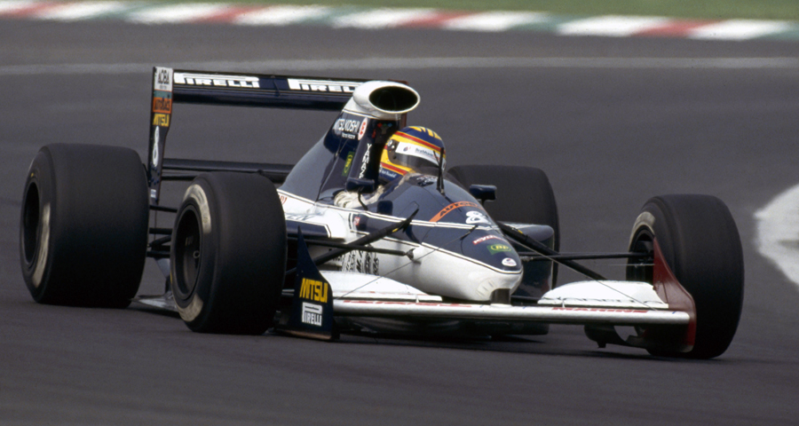 Brabham BT60Y (1991) - Mark Blundell