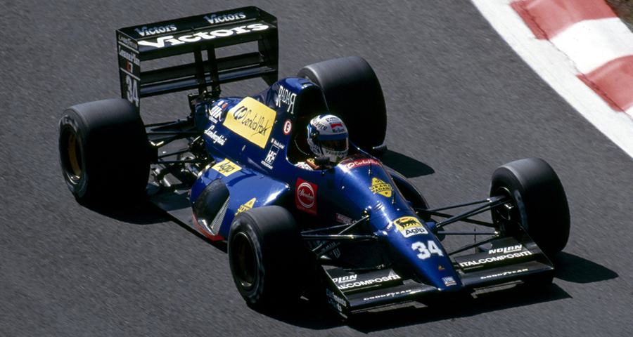 Modena Lamborghini 291 (1991) - Nicola Larini