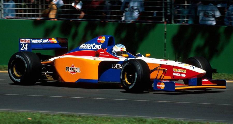 Lola T97/30 (1997) - Vincenzo Sospiri, Melbourne