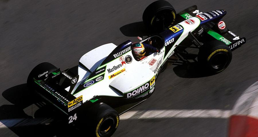 Minardi M195 (1995) - Luca Badoer, Monaco