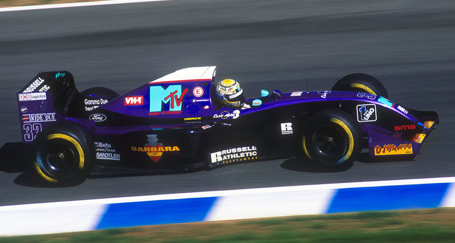 Simtek S941 (1994) - Domenico Schiattarella, Jerez