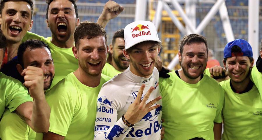 Pierre Gasly - 2018 Bahrain Grand Prix